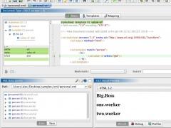 EditiX XML Editor (for Mac OS X) 2017 Screenshot