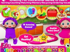EduKitchen -Toddler Fun Games 1.0 Screenshot