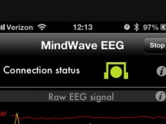 EEG Display For NeuroSky MindWave Mobile: A Quantified Self Research Tool 1.31 Screenshot