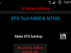 EFS Tool Samsung N7100/900 1.1 Screenshot