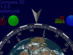 EG Compass 3D Lite 1.2.5 Screenshot