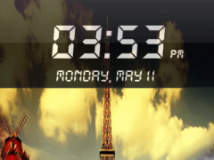Eiffel Tower fake Lock Screen 1.1 Screenshot