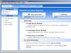 Eisoo AnyLive Server Edition 3.1 Screenshot