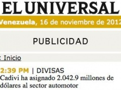 El Universal 1.0 Screenshot