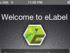eLabel 2.2 Screenshot