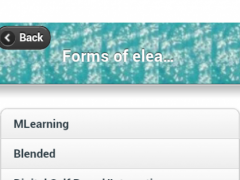 eLearning Info. 1.0 Screenshot
