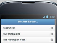 Election 2016 News 0.0.1 Screenshot
