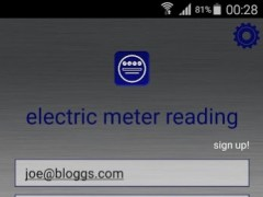 Electric Meter Reading 25022015 Screenshot
