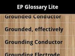 Electric Power Glossary Lite 1.0 Screenshot
