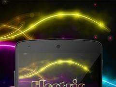 Electric Vibe Keyboard Theme 3.92 Screenshot