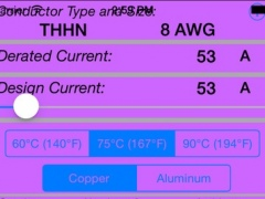 Electrical Conductor Sizing Tool 3.0 Screenshot