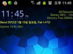 Elegant Split GO Launcher EX 1.0 Screenshot