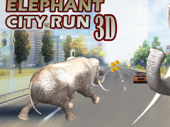Elephant Hoverboard rider 3D 1.0 Screenshot