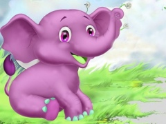 Elephant Running Game - Sweetland 1.0 Screenshot