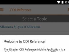 Elsevier CDI Reference 3.1.0 Screenshot