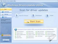 eMachines Drivers Update Utility For Windows 7 64 bit 9.7 Screenshot