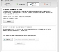 eMachines Notebook WiFi Router 8.6 Screenshot