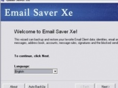 Email Saver Xe 1.7 Screenshot