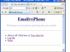 EmailToPhone 2.0 Screenshot