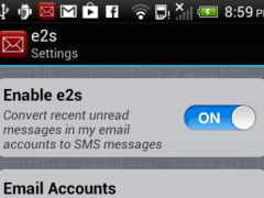 EmailToSms Email to Text 2.1 Screenshot