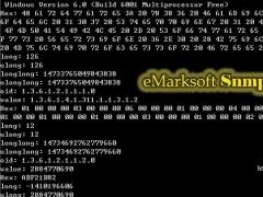 eMark SNMP Component 2.02 Screenshot