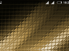 Embossed Gold Xperien Theme 1.0.2 Screenshot