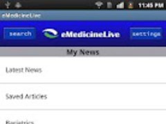eMedicineLive 1.0 Screenshot