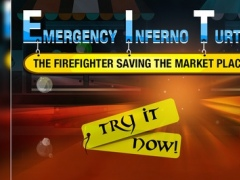 Emergency Inferno Turtle : The Firefighter Saving the Market Place - Free 1.0 Screenshot