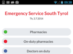 Emergency medical Southtyrol  Screenshot