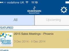 Emerson Network Power Events 3.2 Screenshot