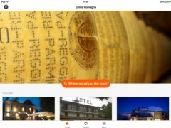 Emilia-Romagna – Sleeping and Eating out by Touring 4.0 Screenshot