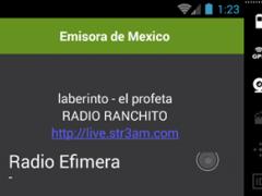 Emisora de Mexico 1.0 Screenshot