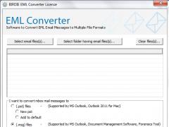 EML Email File Format Converter 7.2.7 Screenshot