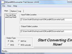 EMLandMSGconverter 1.0 Screenshot