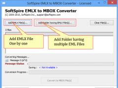EMLX to MBOX Converter 2.8.7 Screenshot