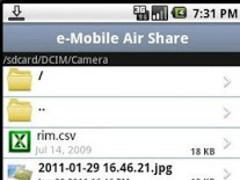 eMobile Air Share 1.0 Screenshot