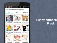 Emoji Emoticon Chat Collection 0.9.35 Screenshot