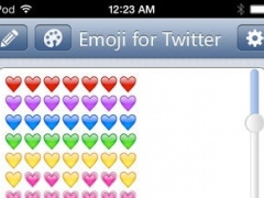 Emoji for Twitter - Make Long Tweet With Characters Symbols Emoticons Keyboard 1.2.0 Screenshot