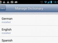 Emoji Keyboard German Dict 1.1 Screenshot