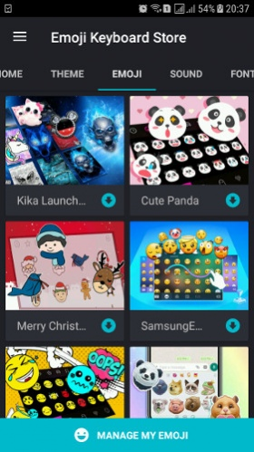 2018 Emoji Keyboard Emoticons Lite