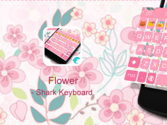 Emoji Keyboard Pink Flower 100 Free Download