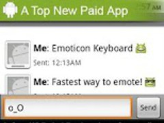 Emoticon (Smiley) Keyboard 1.3.12 Screenshot