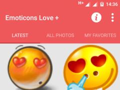 Emoticons Love 6.5 Screenshot