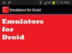 Emulators for Droid 2.0 Screenshot