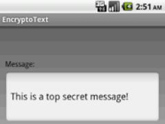 EncryptoText 1.2 Screenshot