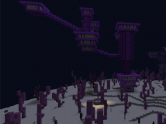 End city map for Minecraft PE 1 5 Free Download