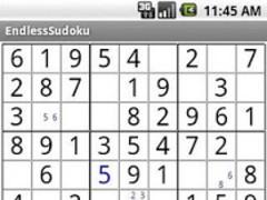 EndlessSudokuLite 1.1 Screenshot