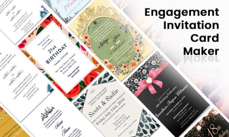 Engagement Invitation Card Maker 1 5 Free Download
