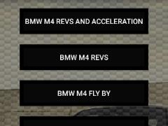 Engine sounds of BMW M4 2.1 Screenshot
