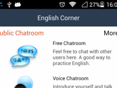 English Corner - Speak English 4.86 Screenshot